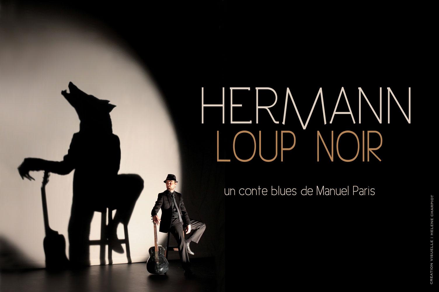 Hermann loup noir